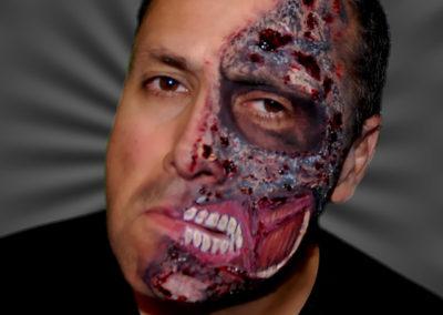 Burned Face
