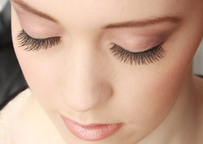 Bridal makeup and lashes