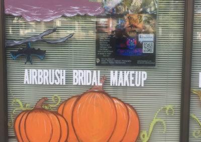 Fall window painting