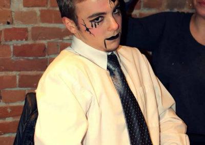Marionette face paint