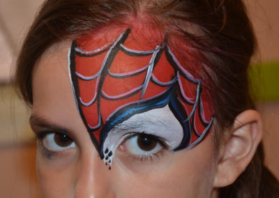 Spider man eye