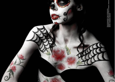 sugarskullbodypainting